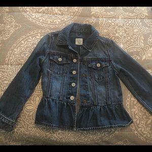 Like new denim gap jacket